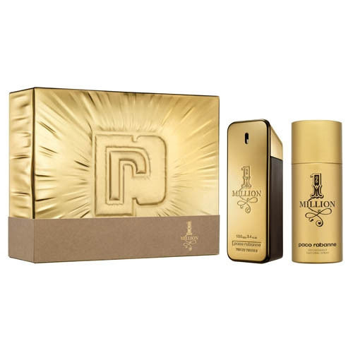 Paco-Rabanne-One-Million-Set-Eau-de-Toilette-Vapo-100-ml-+-Deodorante-Spray-150-ml- Box Webprofumi.com